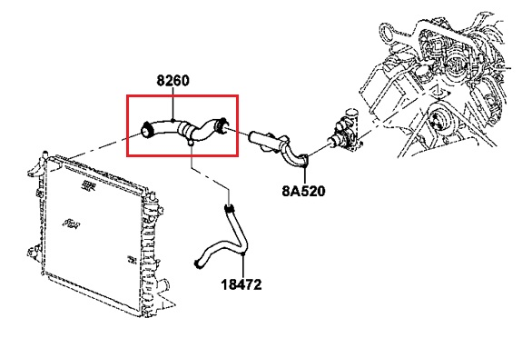 radiator hose diagram 2002 2002 jeep wrangler vacuum hose diagram oem upper radiator hose 2000-2002 lincoln ls 2002 ford ...