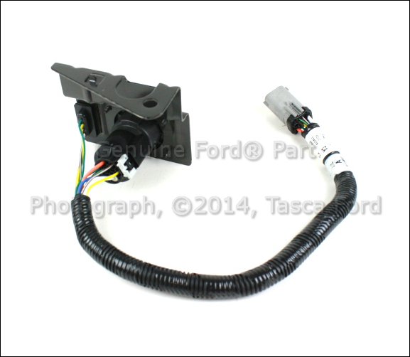 oem trailer hitch 4 & 7 pin wiring harness 1999-2001 ford ... 7 pin wiring diagram ford f 250 trailer ford f 250 trailer harness #14