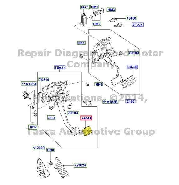 image is loading brand-new-oem-manual-transmission-brake-clutch-pedal-