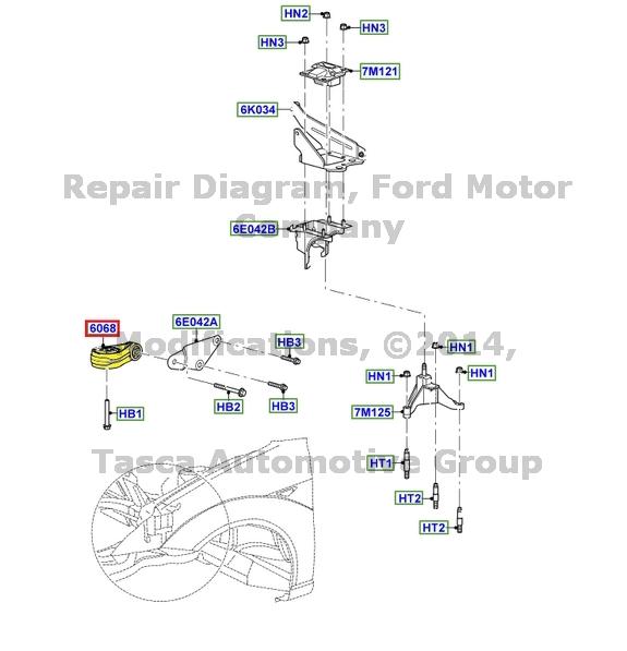 2000 ford focus manual transmission diagram