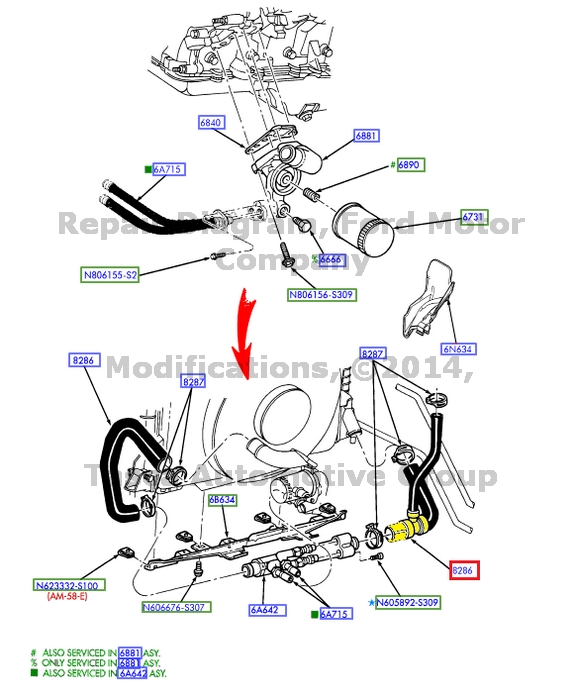 Nuevo OEM Manguera De Radiador Inferior 2001-2002 Ford
