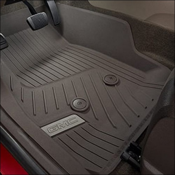com seats floor liner row outlook autopartstoys bucket saturn gmc acadia limited cargo floors maxliner behind maxtray black mats i set