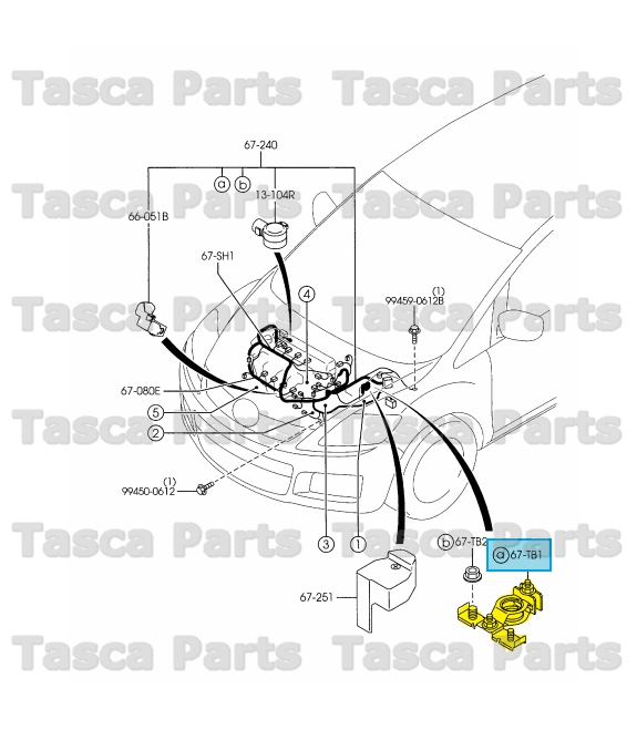 2007 Mazda 3 Engine Wiring Harness : New oem engine transmission wiring harness battery