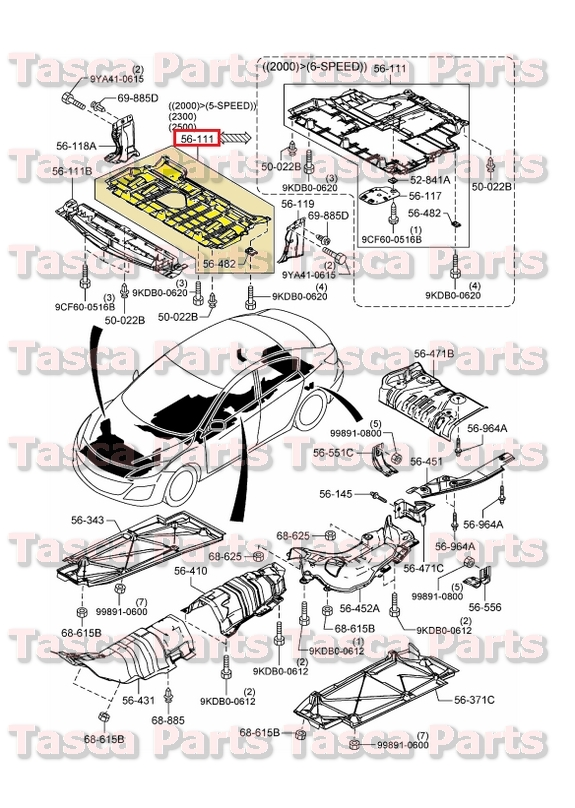 Brand New Oem Engine Partment Under Cover Splash Guard Wo Rhebay: Engine Diagram Of Mazda 3 2011 At Gmaili.net