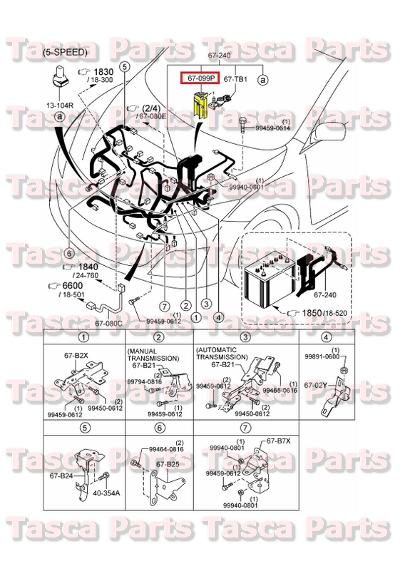 2?refresh new oem 250a emission wiring harness fuse 2010 2013 mazda 3 & 2006 2005 mazda 3 wiring harness at crackthecode.co