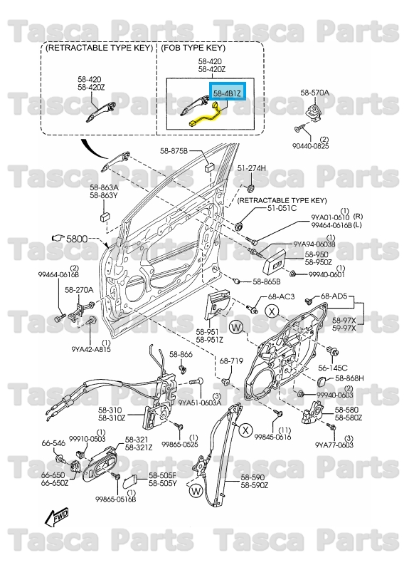 mazda cx7 diagram 2008 mazda cx7 fuse box new oem lh front exterior bright door handle switch mazda
