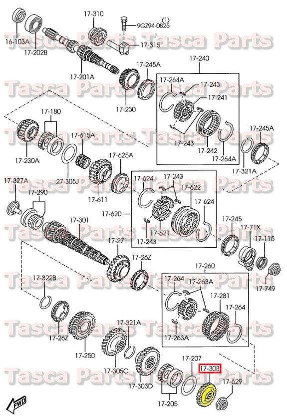 Prime Brand New Oem Manual Transmission 5Th Counter Gear Mazda 2 Protege Wiring Database Ittabxeroyuccorg