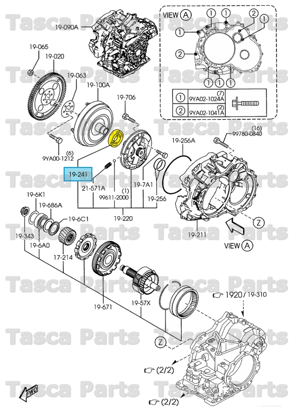 brand new oem torque converter oil seal mazda 2    3    5