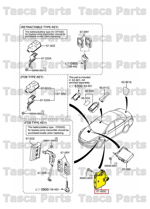 New Oem Body Control Module Bcm Unit 20112013 Mazda 6 W Burglar Rhpicclick: Mazda 6 Bcm Location At Gmaili.net