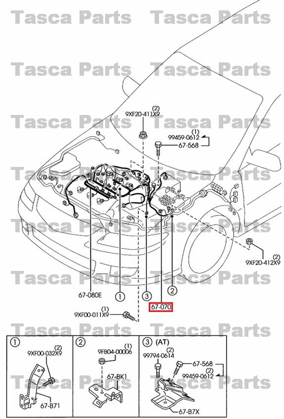 Newoemenginewiringharness30l2006: Mazda 6 Transmission Wiring Diagram At Shintaries.co