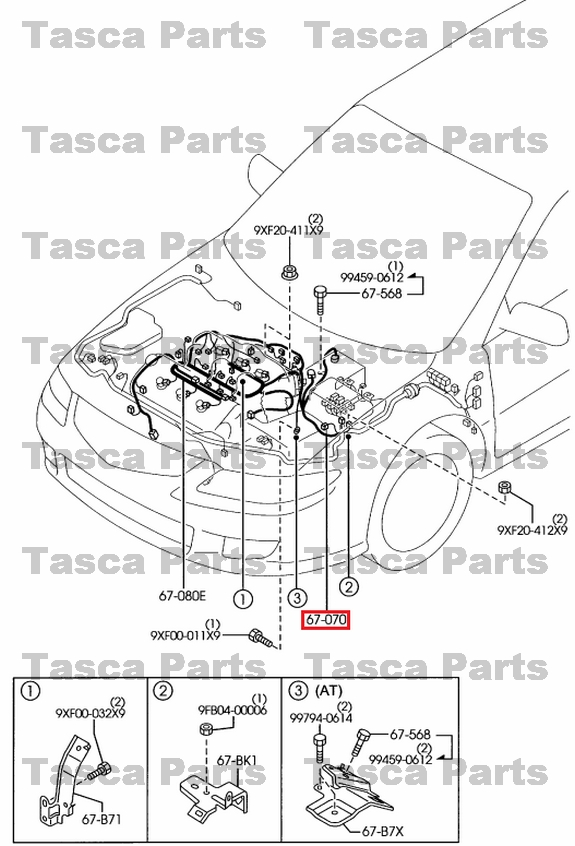 2006 Mazda 6 Engine Wiring Diagram