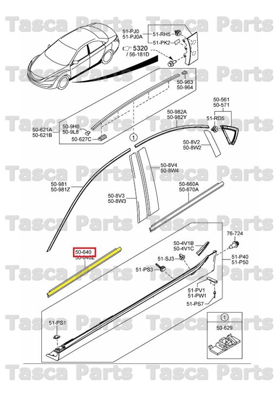 Mazda 3 Door Diagram