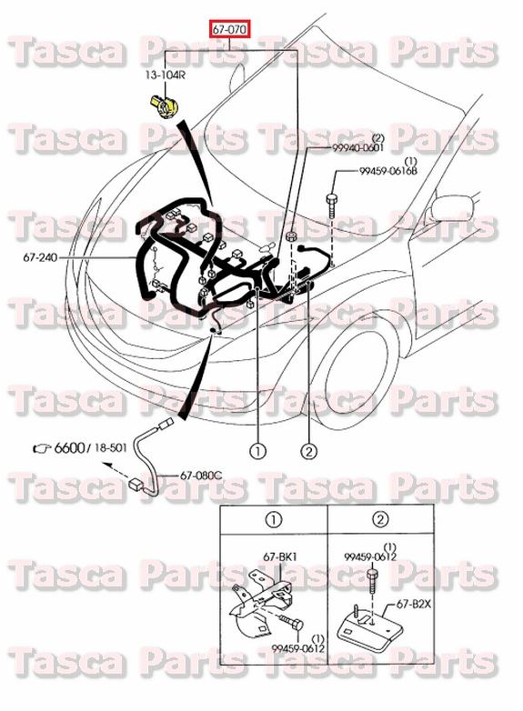 Mazda 6 Wire Harnes