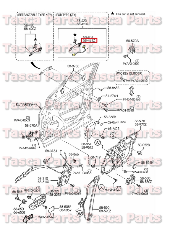 2015 mazda cx 9 front door switch wiring diagram   48
