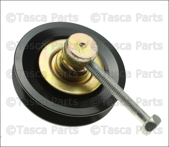 new oem power steering drive belt idler pulley 2 4l l4 nissan