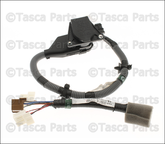 new oem 7-pin tow wire harness wiring 2010-2014 nissan ... 7 pin wiring harness