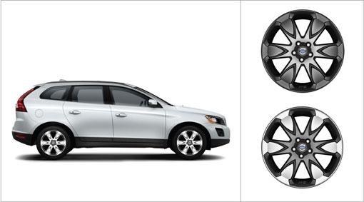 "Brand New 19"" x 8"" Erakir Black Matt Wheel Rim Volvo XC60 XC70 31201241"