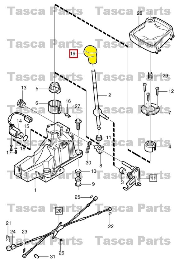 brand new oem charcoal shift control gear shift lever knob
