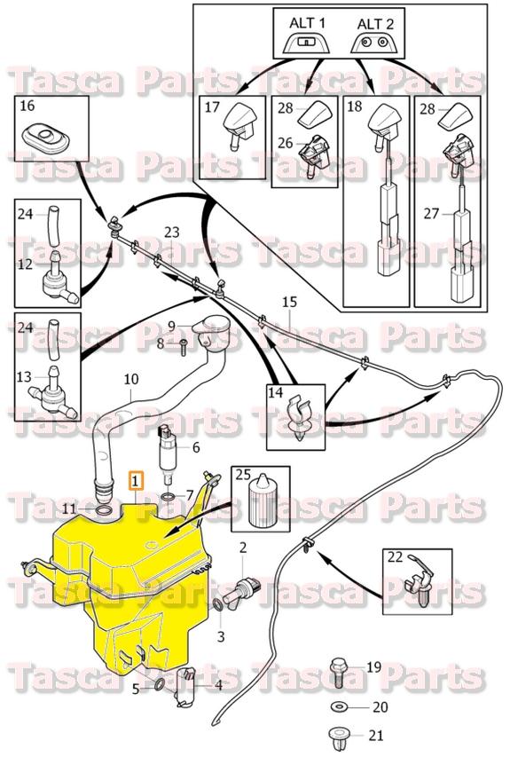 Volvo Washer Fluid Schematic - House Wiring Diagram Symbols •