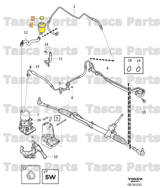 2007 volvo s80 power steering schematic