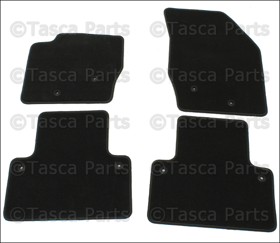 Details About Brand New Oem Grey Flat Textile Floor Mats 2007 2012 Volvo Xc90 39866265